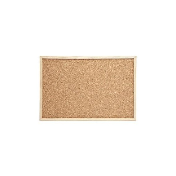 Tablón de corcho 40 x 60 cm