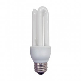 Bombilla de bajo consumo luz cálida