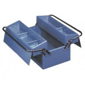 Caja de herramientas metálica Heco 102