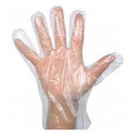 Guantes de polietileno desechables 100 bolsas de 100 guantes