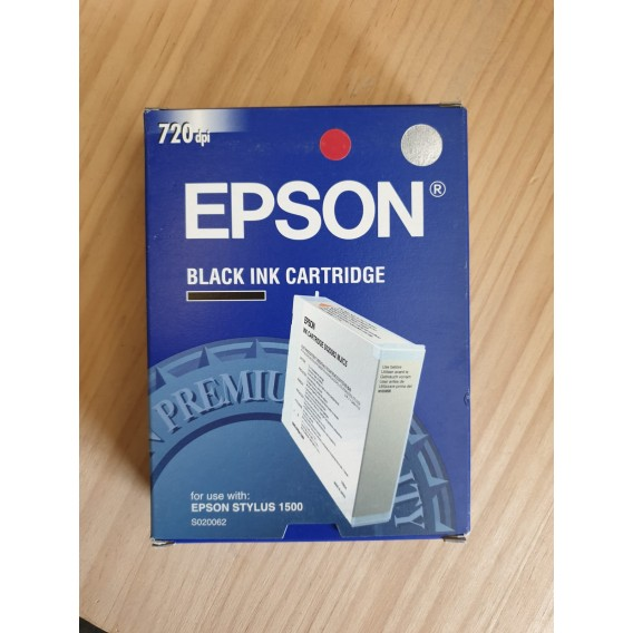 Cartucho de tinta Epson S020062 - color negro