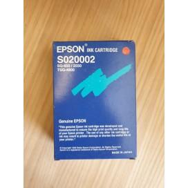 Cartucho de tinta Epson S020002 - negro