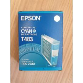 Cartucho de tinta Epson T483 - azul cian