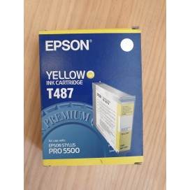 Cartucho de tinta Epson T487 - color amarillo