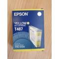 Cartucho de tinta Epson T487 - color amarillo