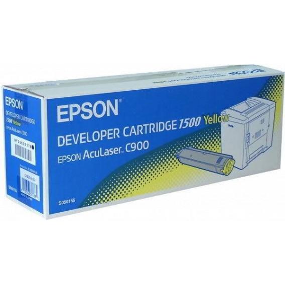 Toner Epson 1500 para Aculaser C900 - amarillo