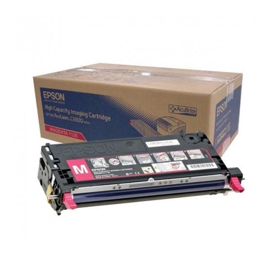 Toner Epson 1129 para Aculaser C3800 series capacidad estándar - magenta
