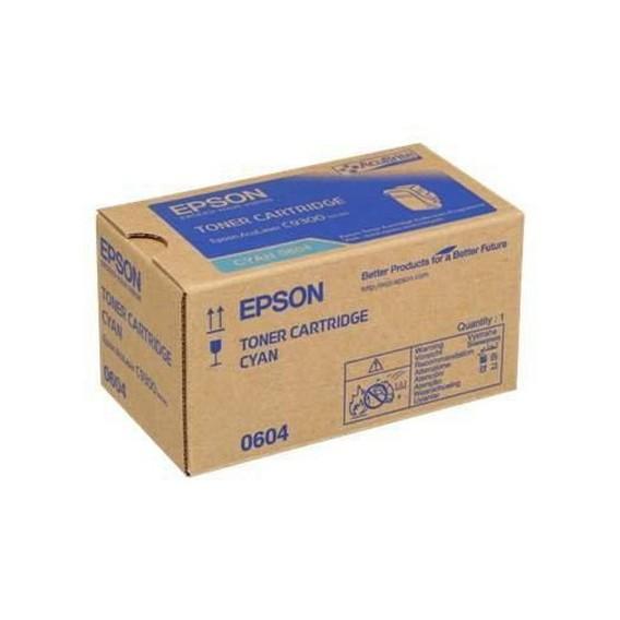 Toner Epson 0604 para Aculaser C9300 series - azul cian