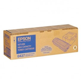 Toner retornable Epson 0437 para Aculaser M2000 series - negro