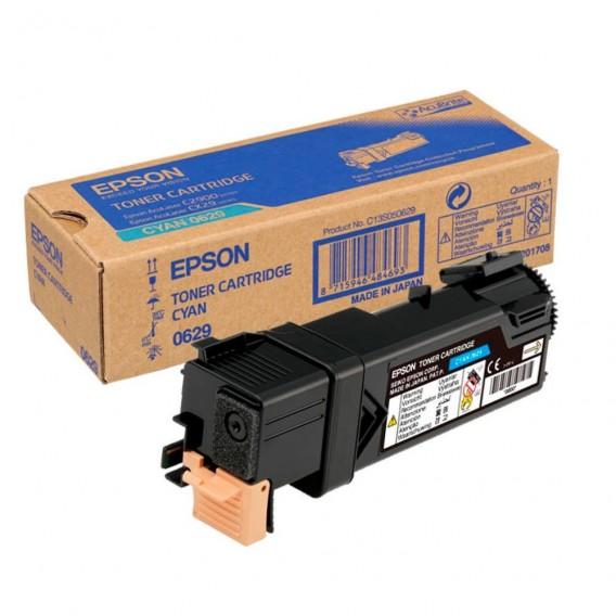 Toner Epson 0629 para Aculaser C2900/CX29 - azul cian