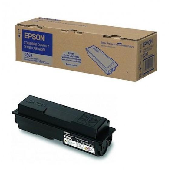 Toner Epson 0583 para Aculaser M2300 M2400 MX20 - negro
