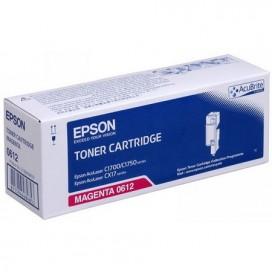 Toner Epson 0612 para Aculaser C1700 CX17 - magenta