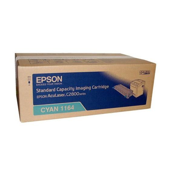 Toner Epson 1164 para Aculaser C2800 series capacidad estándar - azul cian