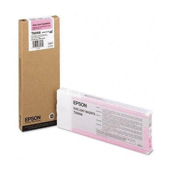 Cartucho de tinta Epson T6066 - magenta claro