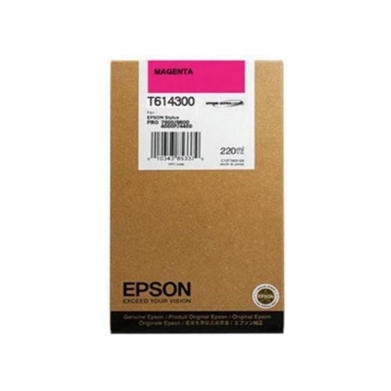 Cartucho de tinta Epson T6143 - magenta