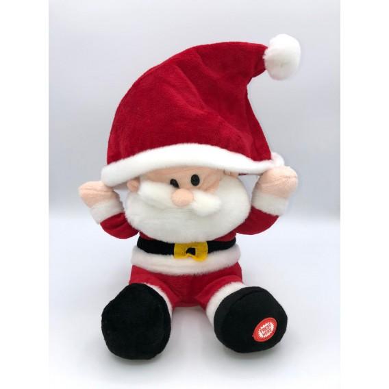 Peluche de Papa Noel con música