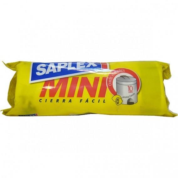 Bolsas de Basura Mini 20u 45x47cm Saplex