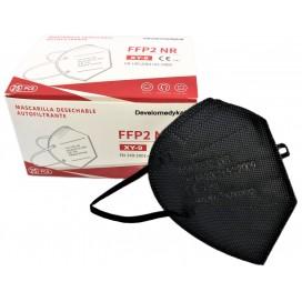 Mascarilla FFP2 Negra 5 capas autofiltrante