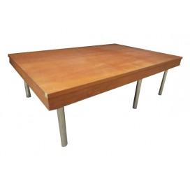 Mesa de centro de madera