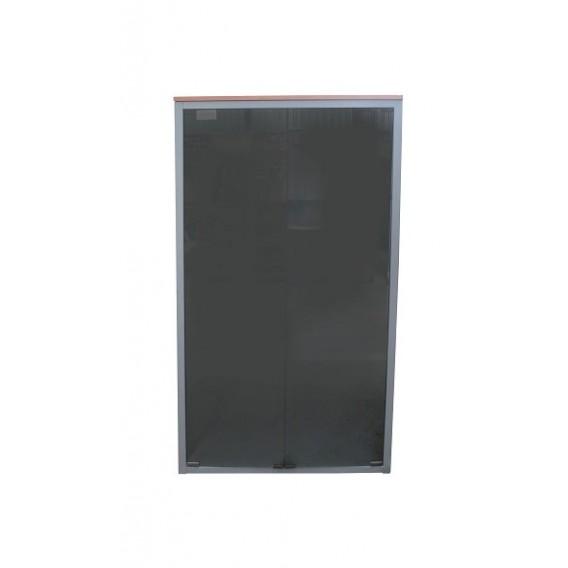 Estanter a con puertas de cristal para la oficina stocks for Puertas de cristal para oficina