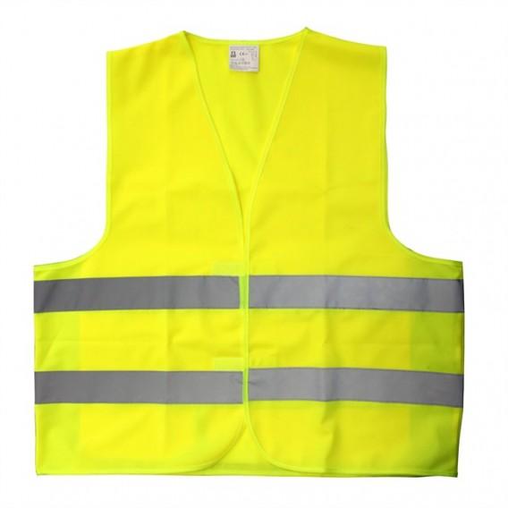 Chaleco reflectante de seguridad adulto amarillo