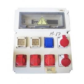 Caja eléctrica industrial