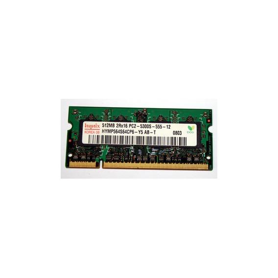 Memoria ram sdram hynix HYMP564S64CP6-Y5 AB-T DDR2 de 512 MB
